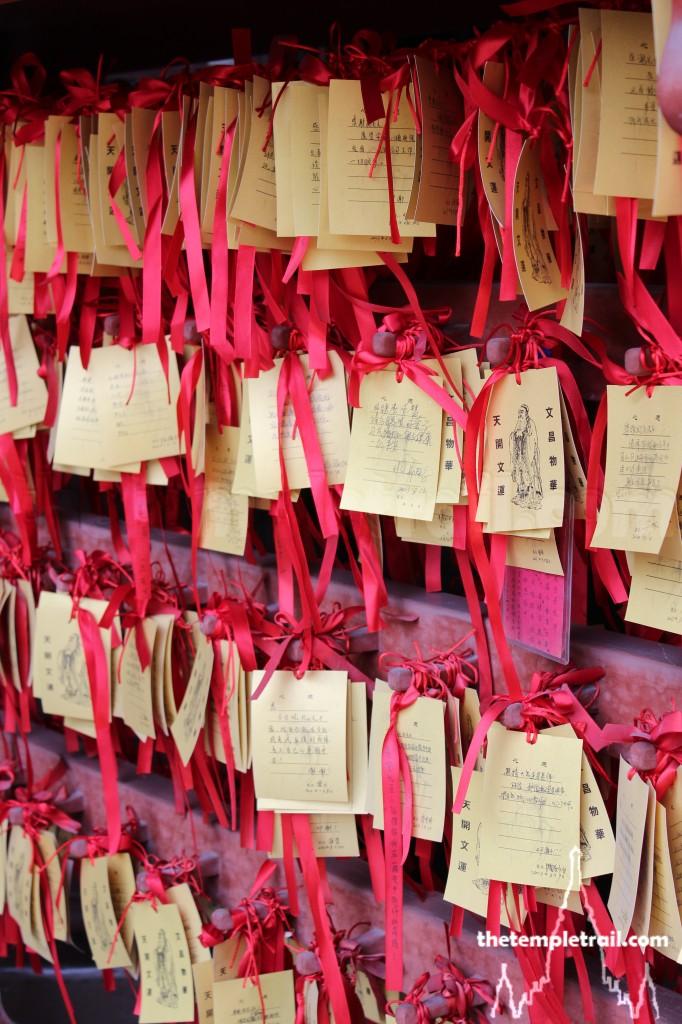 Wen Miao Prayer Plaques