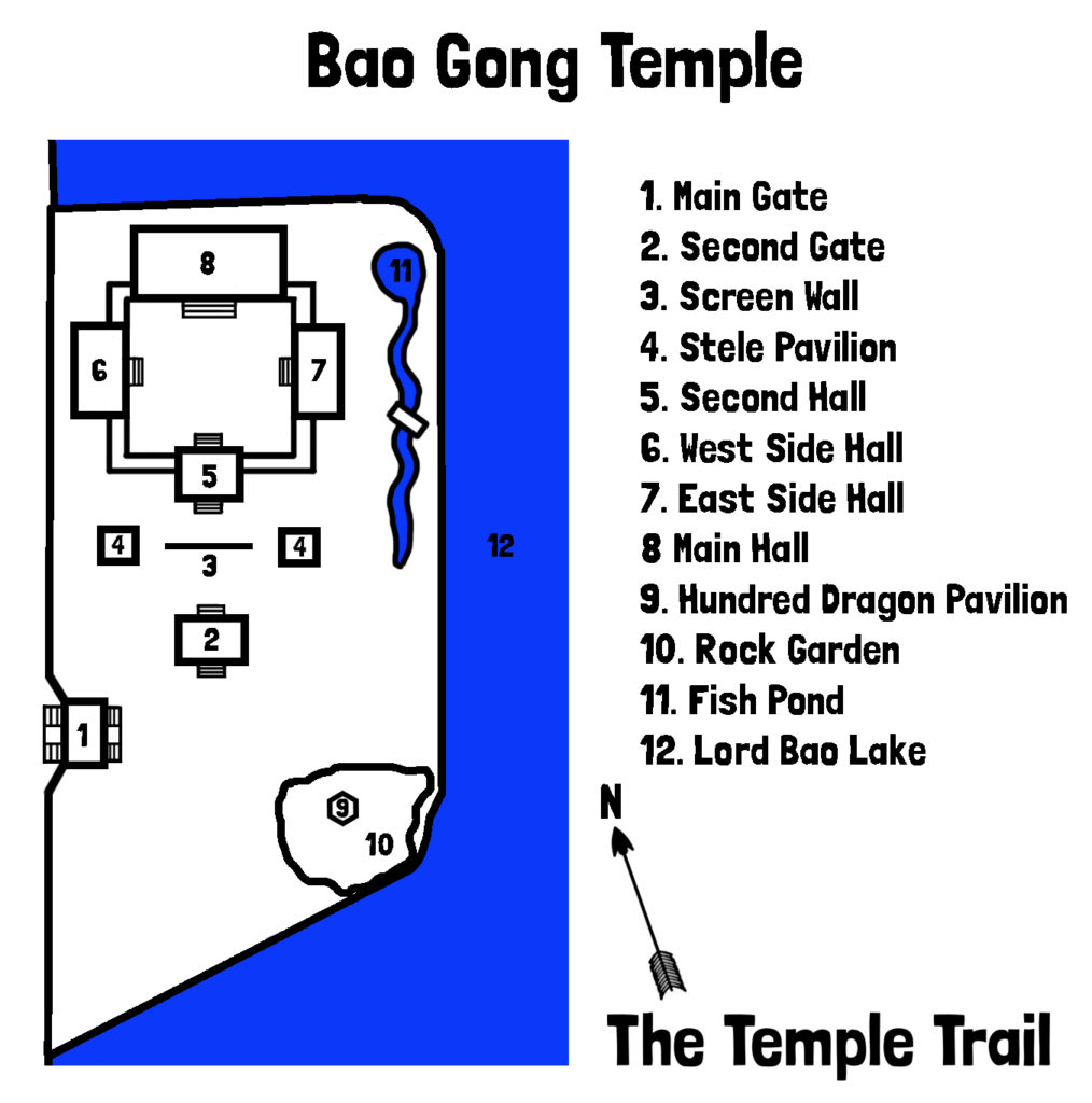 Bao Gong Temple Map