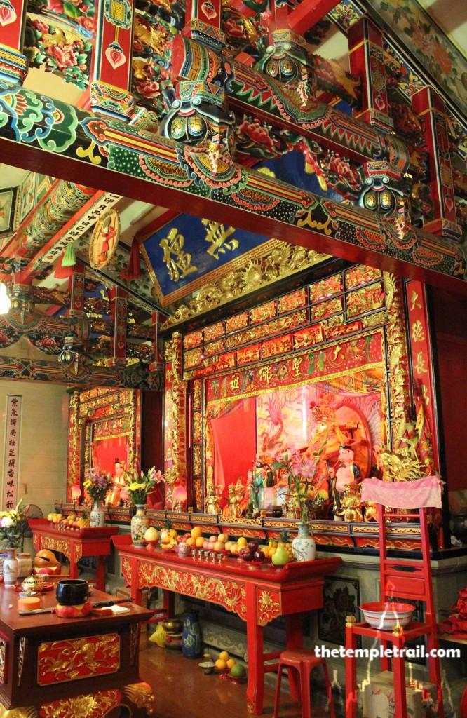 Monkey God Temple Hong Kong