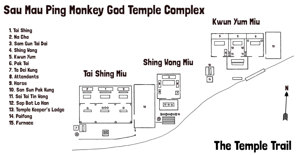 Monkey God Temple Hong Kong