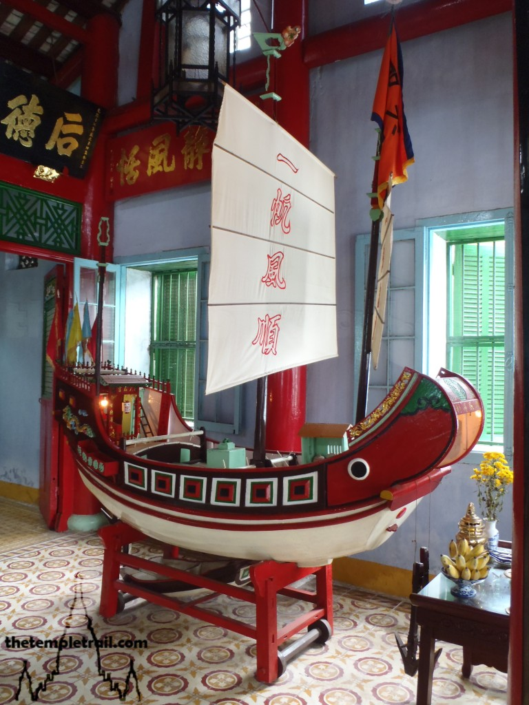 Trung Hoa Assembly Hall Junk Boat