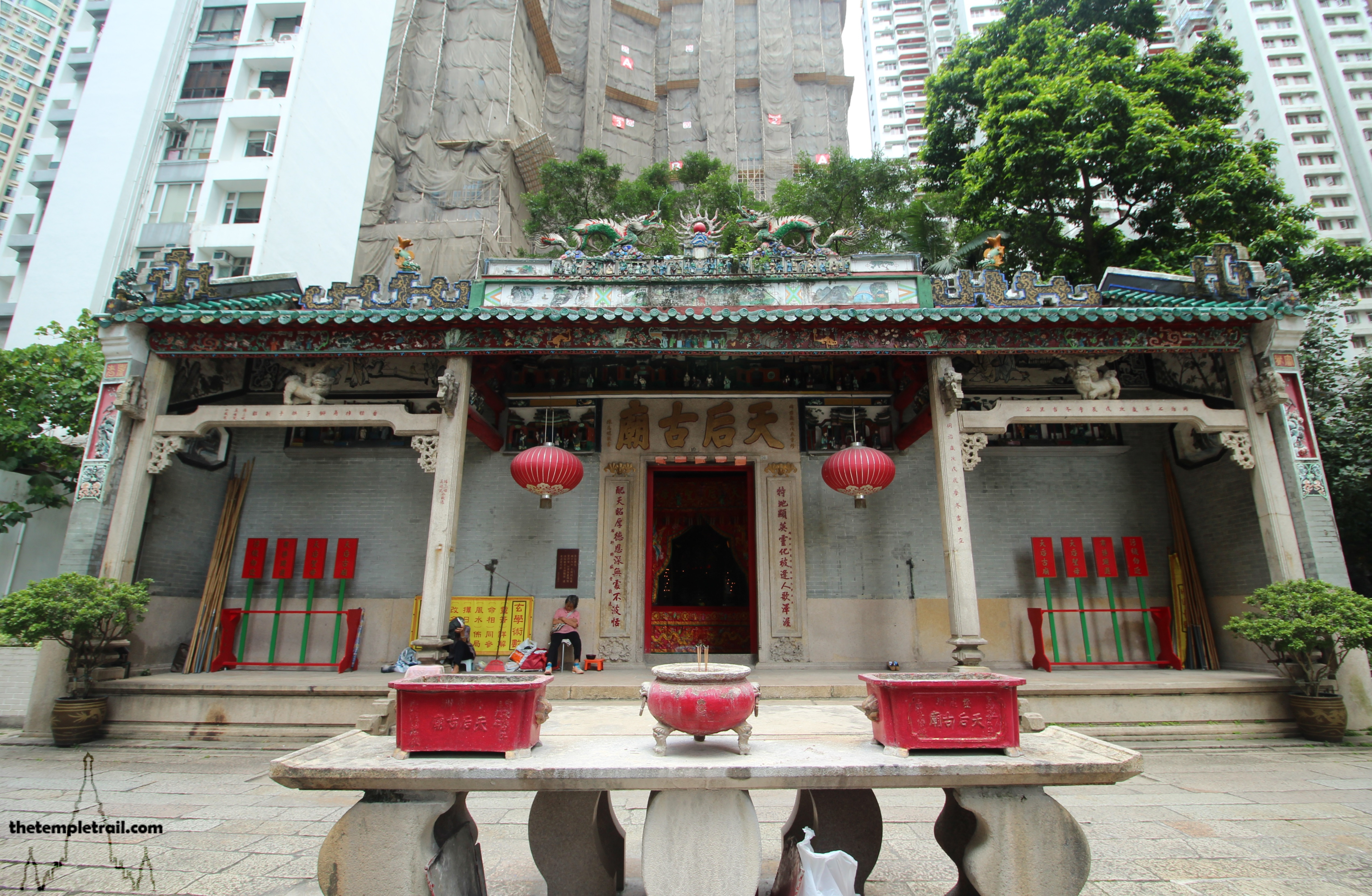 Tin Hau Temple, Causeway Bay