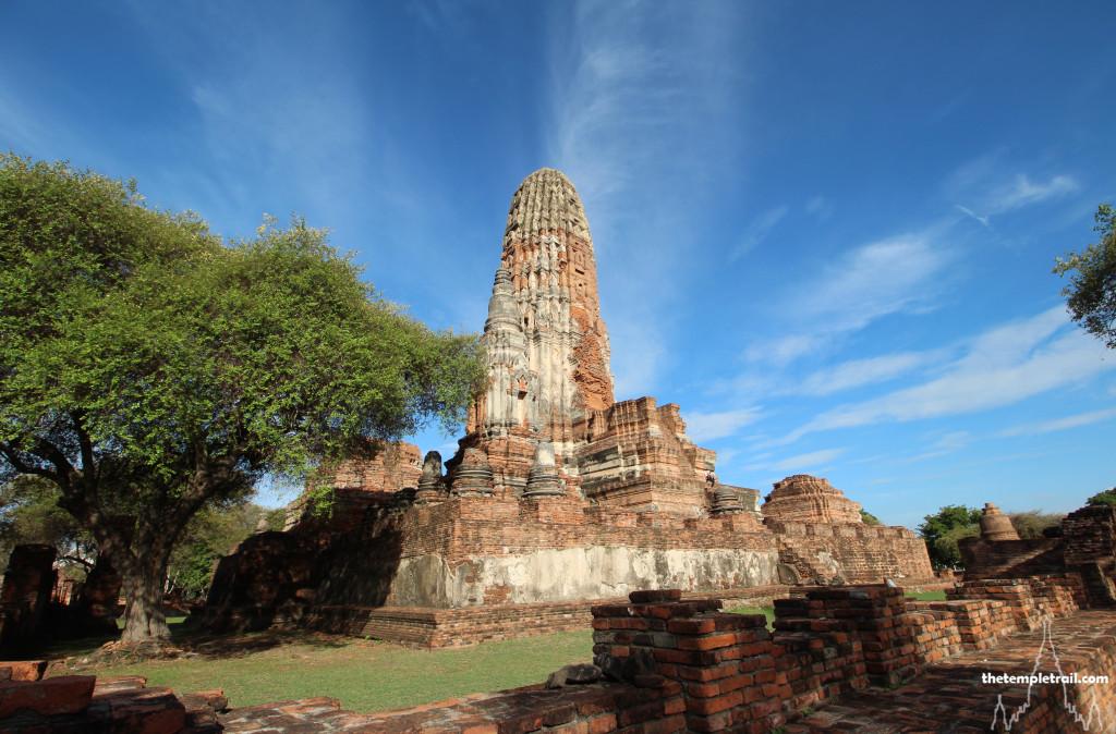 Prang at Wat Phra Ram, Ayutthaya