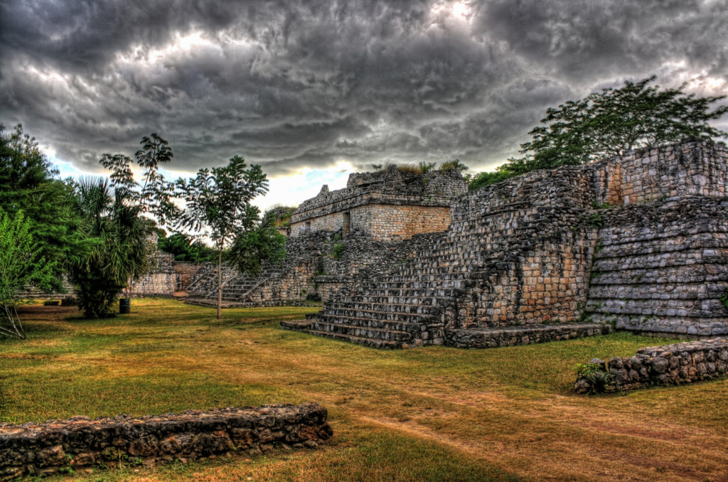 map of Maya sites