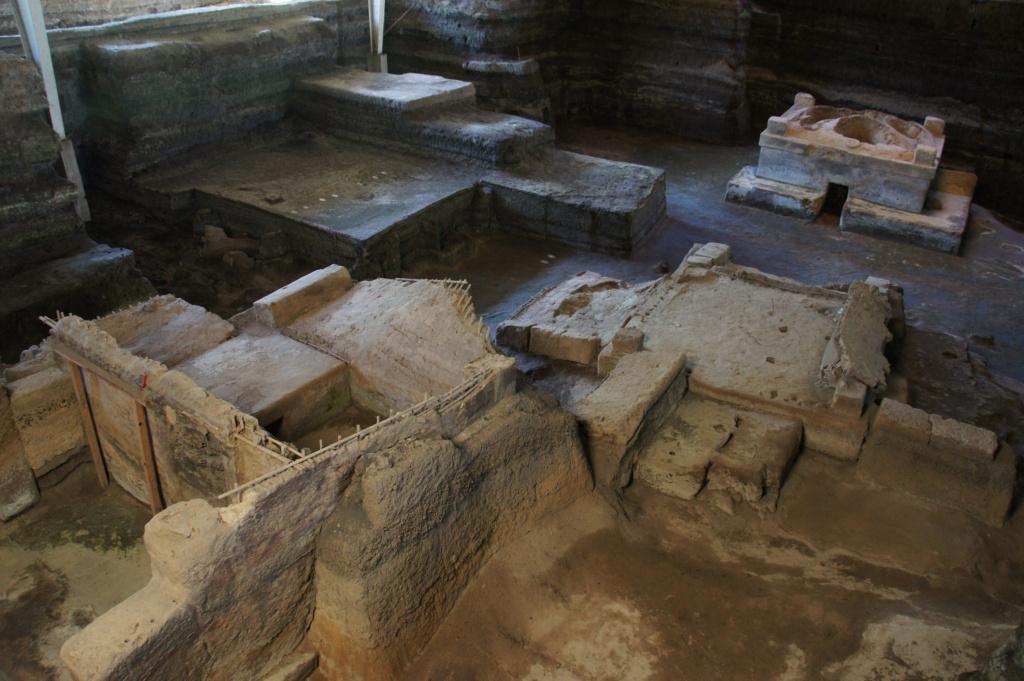 map of Maya sites