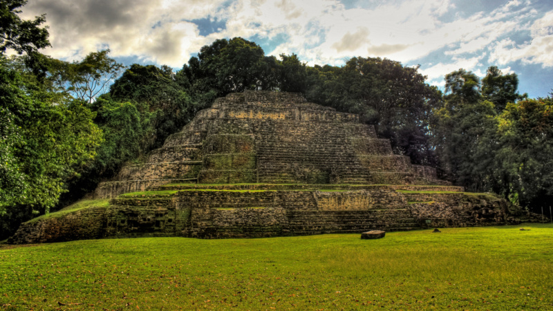 Map of the Major Maya Sites